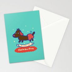 Little baby dog Stationery Cards