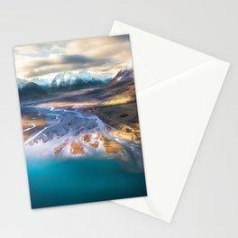 """Ohau Beautiful"" - High above Lake Ohau, New Zealand Stationery Cards"