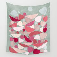bed Wall Tapestries featuring Sea Bed by Nic Squirrell