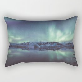 Jokulsarlon Lagoon - Landscape and Nature Photography Rectangular Pillow