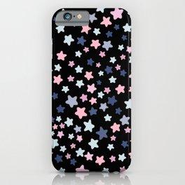 Little Pastel Stars iPhone Case