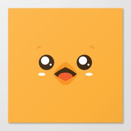Happy Chicky. Canvas Print