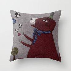 It's a Dog! Throw Pillow
