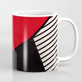 Primary Colors and Stripes Coffee Mug