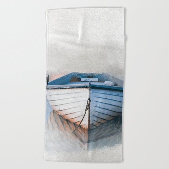 Boat Beach Towel