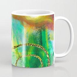 Swirly Giraffe In A Crazy Jungle World Coffee Mug