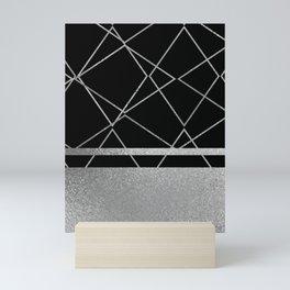 Silverado: Black Mini Art Print