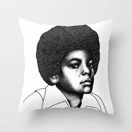 Little King Throw Pillow
