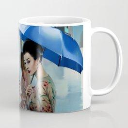 HER BLUE UMBRELLA Coffee Mug