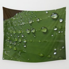 Rain drops Wall Tapestry
