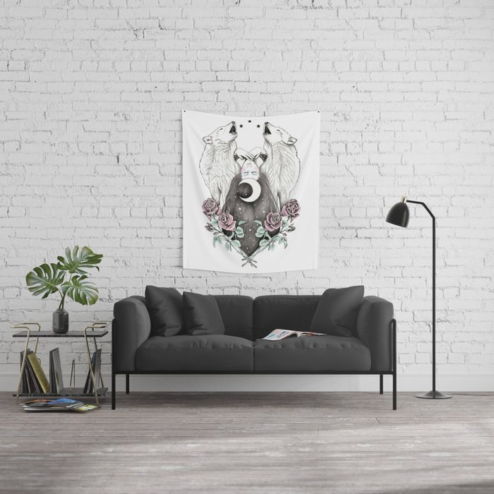 Always Dreamer Wall Tapestry