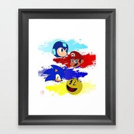 Smash Brothers: The Legends Framed Art Print