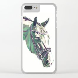 Curious Clear iPhone Case