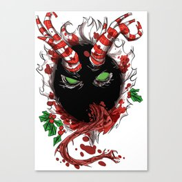 Krampus is coming to town Canvas Print