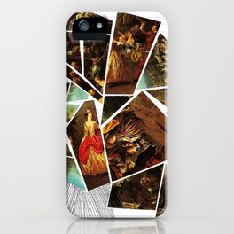 Lady's Wages iPhone Case