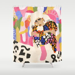 World Full Of Colors Shower Curtain