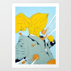 Bombardement Art Print