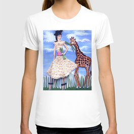 The African Safari Illustration By James Thomas Ryan T-shirt