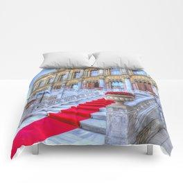 Ciragan Palace Istanbul Red Carpet Comforters