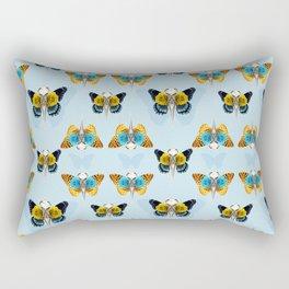 Bird skull pattern Rectangular Pillow