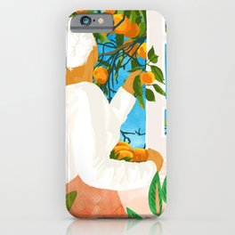 A Few Bad Oranges Is No Reason Not To Bring The Grove Home #painting iPhone Case