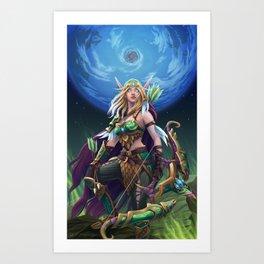 Alleria Art Print