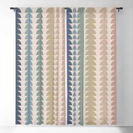 Maude Pattern- Vintage Multicolor Blackout Curtain