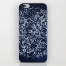 Vintage Constellations & Astrological Signs | White iPhone Skin