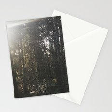 Of light & trees Stationery Cards