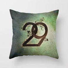29 Throw Pillow
