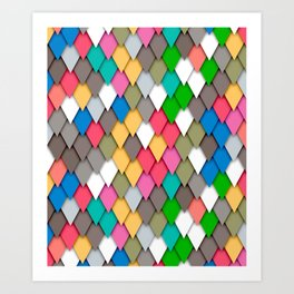 C13D Flipflaps Art Print