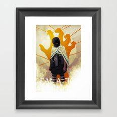 MISGUIDED FANATICISM Framed Art Print