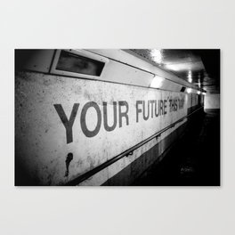 Your Future This Way Canvas Print