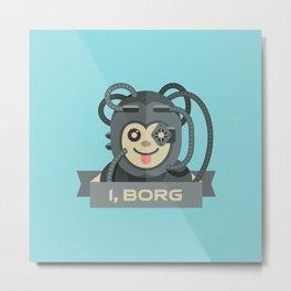 I, Borg Metal Print