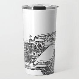 retro auto car Travel Mug