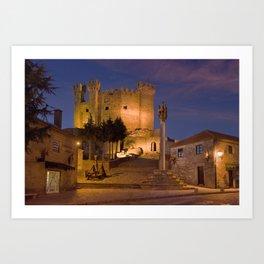 Medieval castle in Portugal Art Print