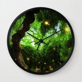 Spirits of Nature Wall Clock