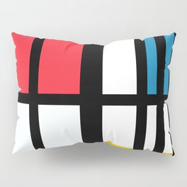 Thinking about Mondrian Pillow Sham