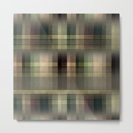 """Scottish squares"" Metal Print"