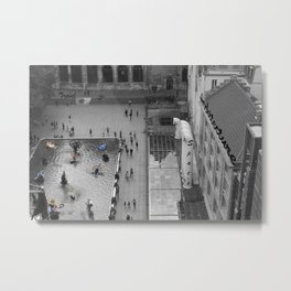 Paris Pompidou Metal Print