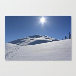 Tincan Peak Canvas Print