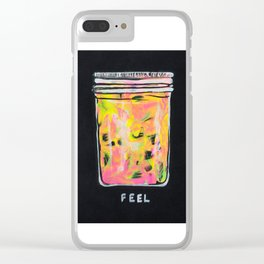 """""""Feel"""" Clear iPhone Case"""