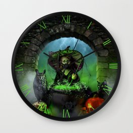 Prophecy Of The Descendant Wall Clock