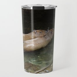 Swimming Fools Travel Mug