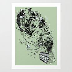 Hidden Home Art Print