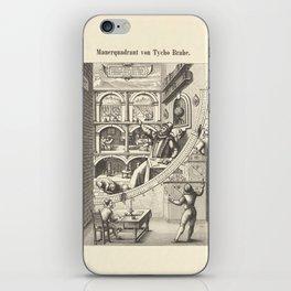 Mauerquadrant von Tycho Brahe iPhone Skin