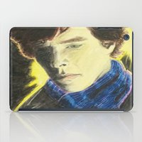 johnlock iPad Cases featuring Sherlock by The Expression Studio