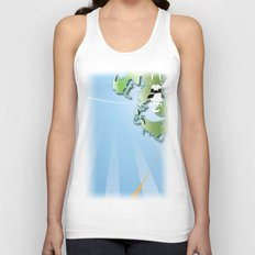 three Unisex Tank Top