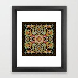 Dance Between Fire Now! Framed Art Print