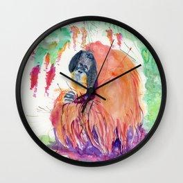 orang Wall Clock